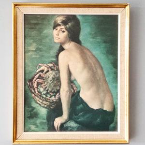 Tableau - La femme aux coquillages