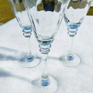 Grande coupe à champagne ou cocktail - Lot de 3