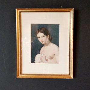 portrait femme seins nus