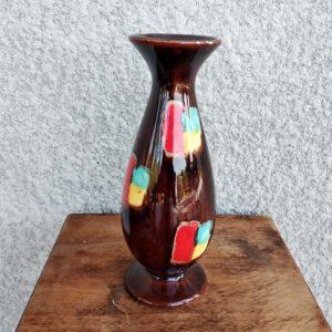 vase années 70's en céramique
