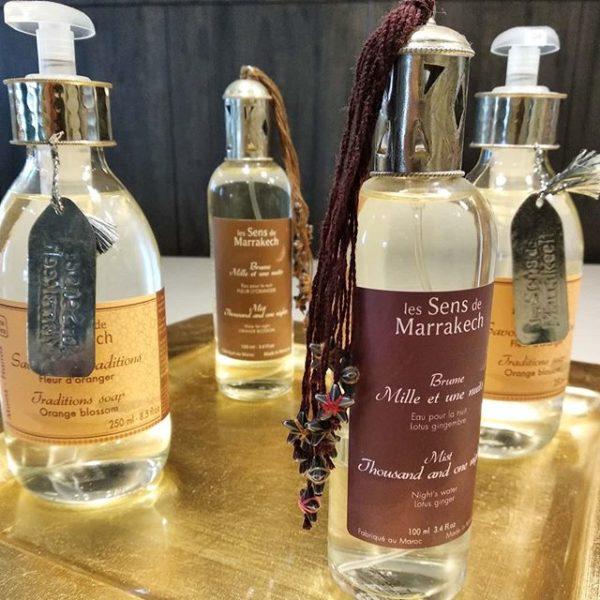 parfum intérieur les sens de Marrakech