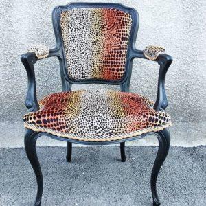 fauteuil leopard